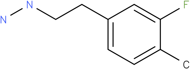 1-(3-fluoro-4-methylphenethyl)hydrazine
