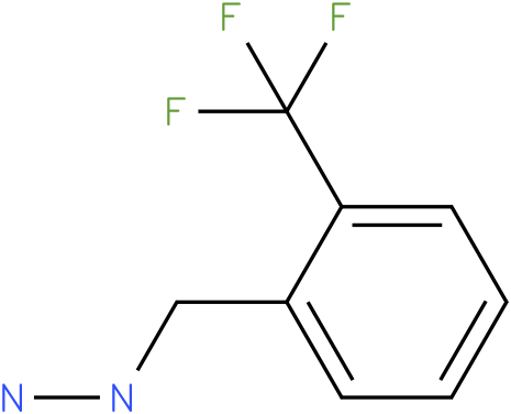 1-(2-(trifluoromethyl)benzyl)hydrazine