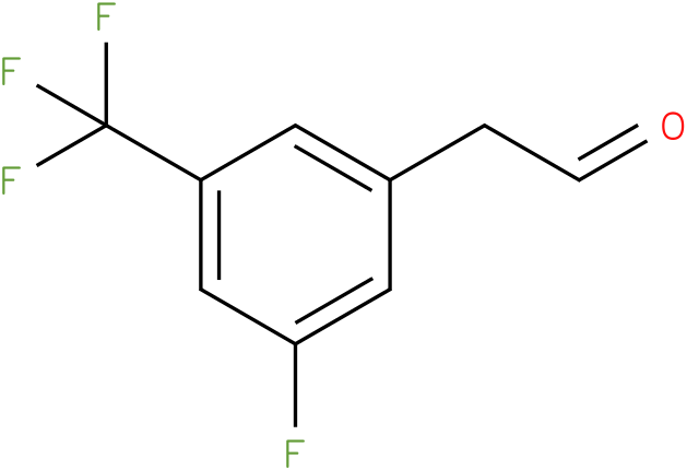 2-(3-fluoro-5-(trifluoromethyl)phenyl)acetaldehyde