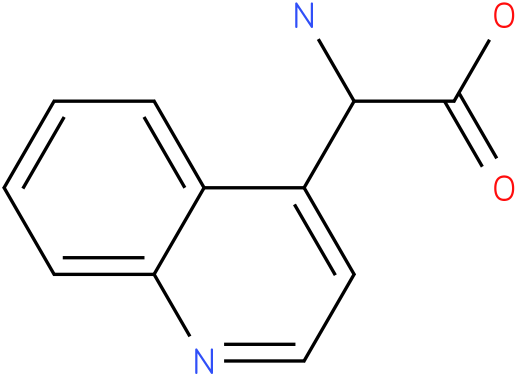 Amino-quinolin-4-yl-acetic acid