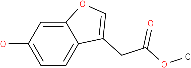 (6-HYDROXY-BENZOFURAN-3-YL)-ACETIC ACID METHYL ESTER