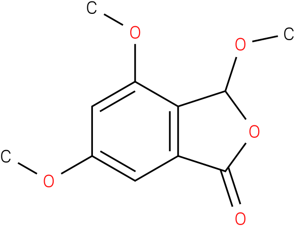 3,4,6-trimethoxy-1,3-dihydro-1-isobenzofuranone