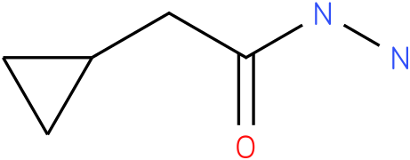 Cyclopropaneacetic acid, hydrazide