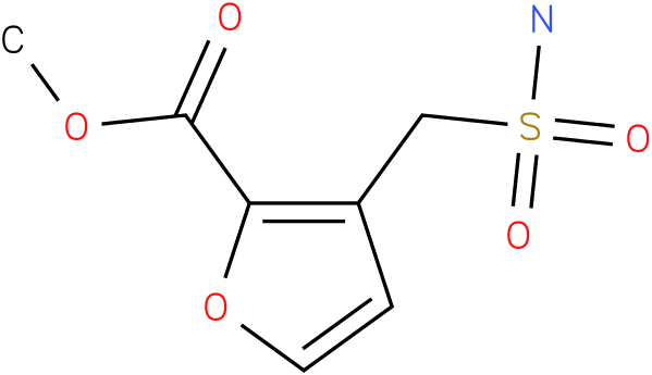 METHYL 3-(SULFAMOYLMETHYL)FURAN-2-CARBOXYLATE