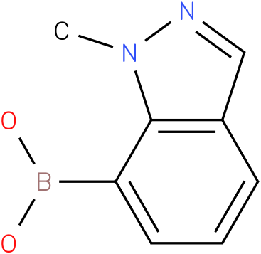 (1-METHYL-1H-INDAZOL-7-YL)BORONIC ACID