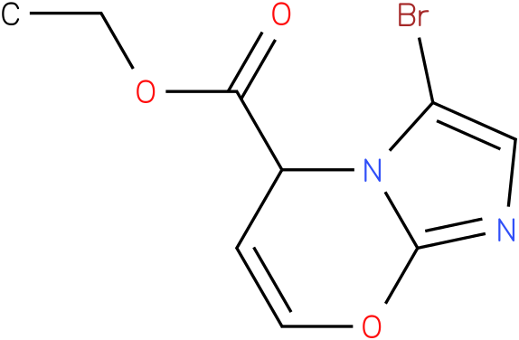 ethyl 3-bromoH-imidazo[1,2-a]pyridine-5-carboxylate