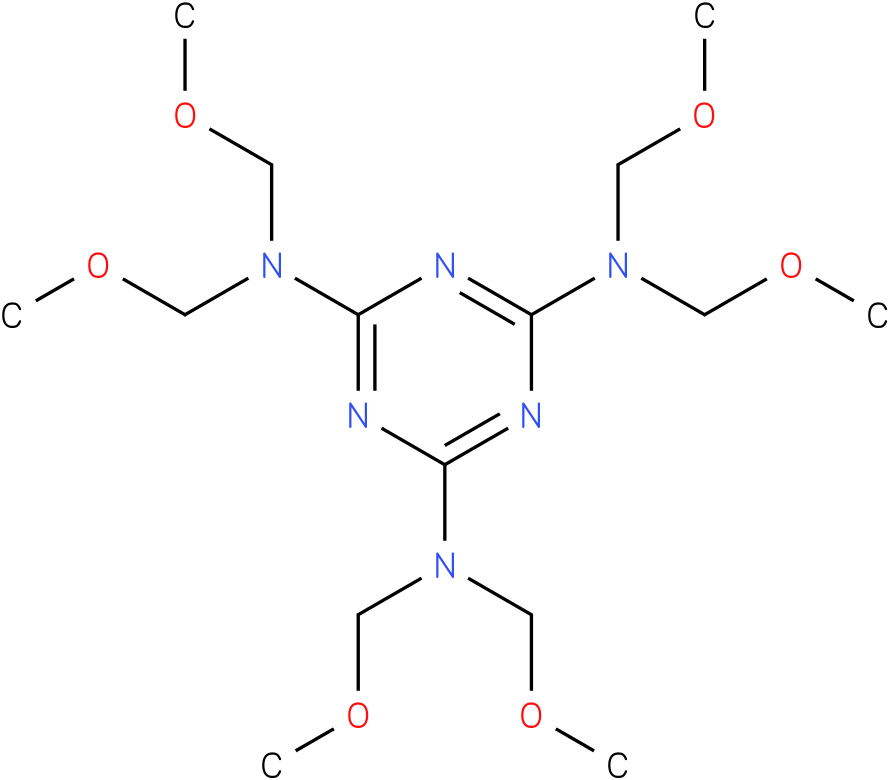 2,4,6-Tris[bis(methoxymethyl)amino]-1,3,5-triazine