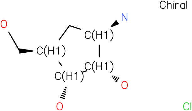 (1R,2S,3R,4R)-2,3-DIHYDROXY-4-(HYDROXYMETHYL)-1-AMINOCYCLOPENTANE HYDROCHLORIDE