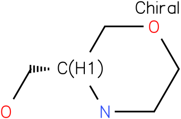 3(R)-HYDROXYMETHYLMORPHOLINE