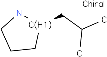 (2R)-2-(2-METHYLPROPYL)PYRROLIDINE
