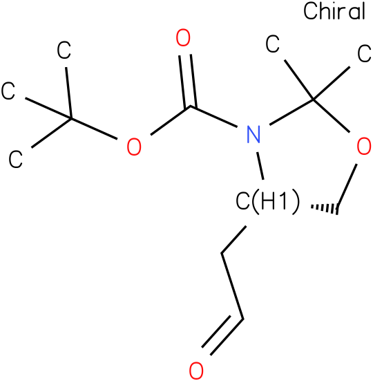 (S)-TERT-BUTYL 2,2-DIMETHYL-4-(2-OXOETHYL)OXAZOLIDINE-3-CARBOXYLATE