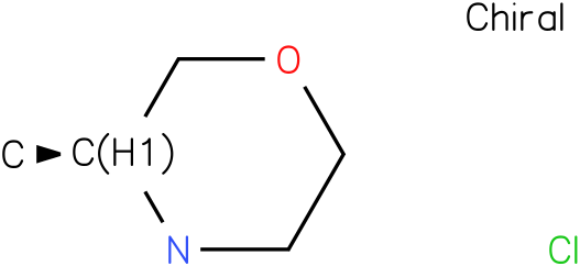 (S)-3-Methyl Morpholine Hydrochloride