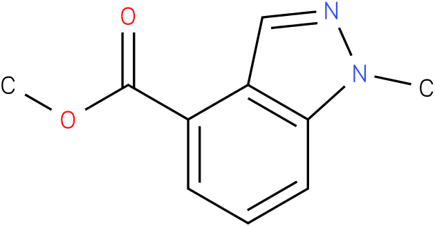 1-methyl-1H-indazole-4-carboxylic acid methyl ester