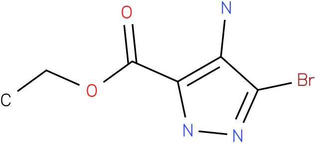 ETHYL 4-AMINO-3-BROMO-1H-PYRAZOLE-5-CARBOXYLATE