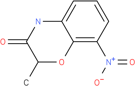2-METHYL-8-NITRO-4H-BENZO[1,4]OXAZIN-3-ONE