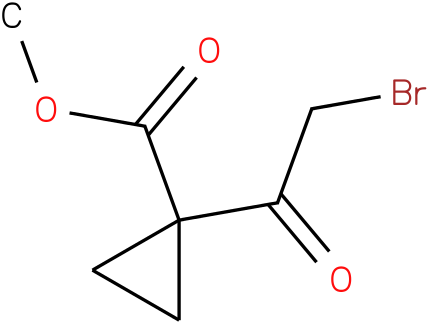 METHYL1-(2-BROMOACETYL)CYCLOPROPANECARBOXYLATE