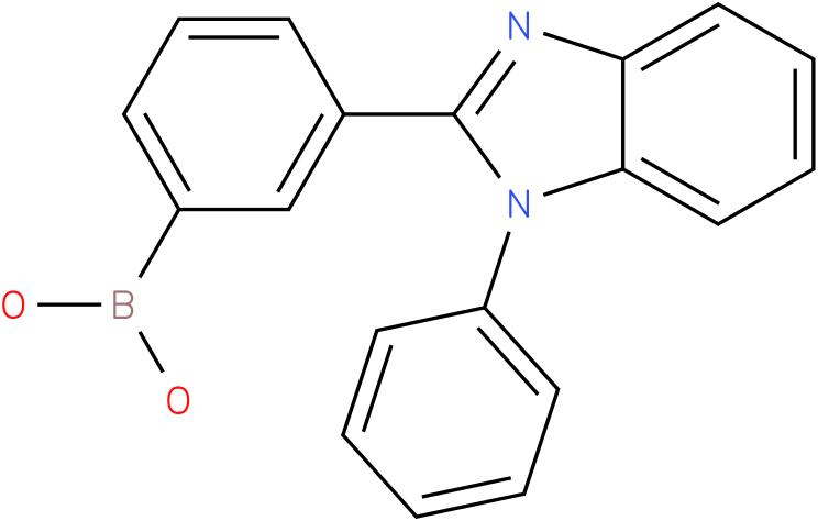 B-[3-(1-phenyl-1H-benzimidazol-2-yl)phenyl]Boronic acid