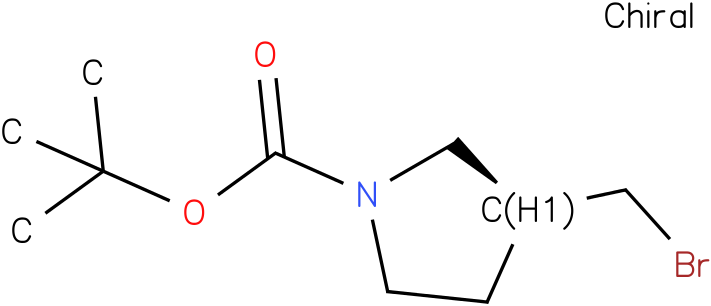 (S)-tert-butyl 3-(broMoMethyl)pyrrolidine-1-carboxylate