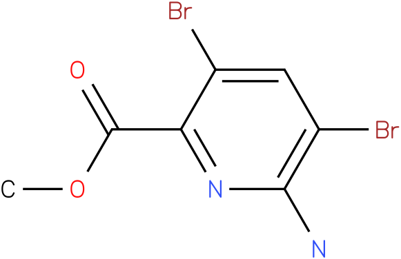 methyl 6-amino-3,5-dibromopyridine-2-carboxylate