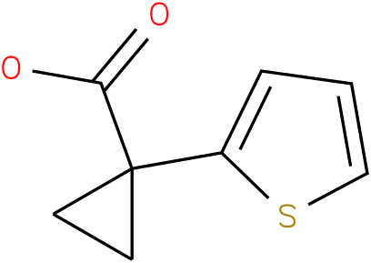 1-(Thiophen-2-yl)cyclopropanecarboxylic acid