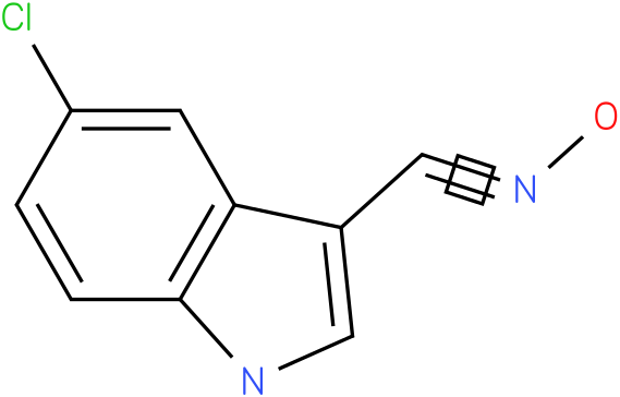5-CHLORO-1H-INDOLE-3-CARBOXALDEHYDE OXIME