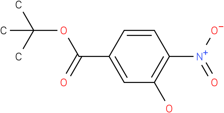 tert-butyl 3 hydroxy-4-nitrobenzoate