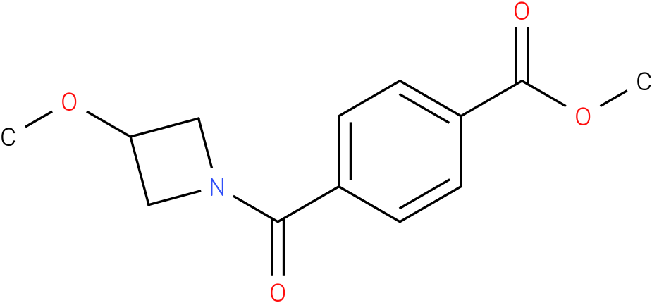 4-(3-METHOXYAZETDINECARBONYL)-BENZOIC ACID METHYL ESTER
