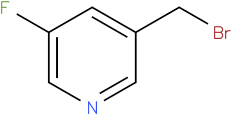 3-(bromomethyl)-5-fluoropyridine