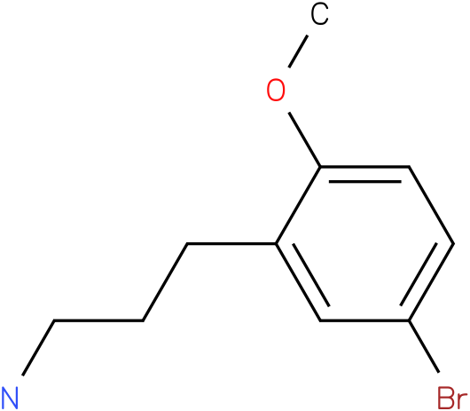 3-(5-bromo-2-methoxy-phenyl)propylamine