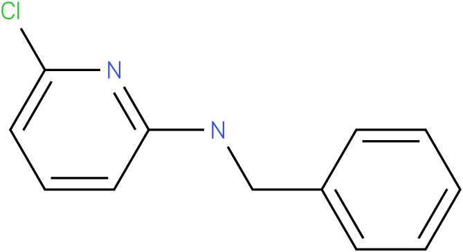 2-Pyridinamine,6-chloro-N-(phenylmethyl)-