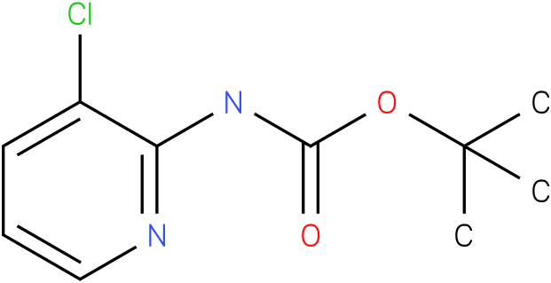 Carbamic acid,N-(3-chloro-2-pyridinyl)-,1,1-dimethylethyl ester