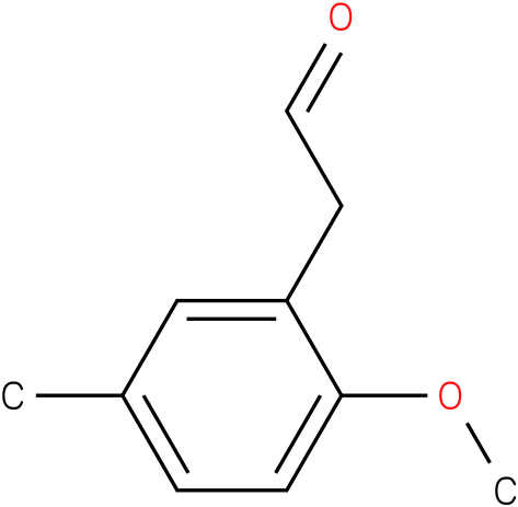 2-(2-methoxy-5-methylphenyl)acetaldehyde