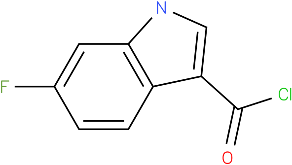 6-FLUORO-1H-INDOLE-3-CARBONYL CHLORIDE
