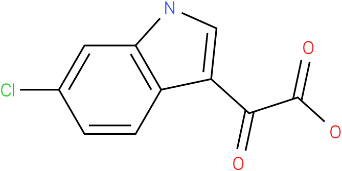 2-(6-chloro-1H-indol-3-yl)-2-oxoacetic acid