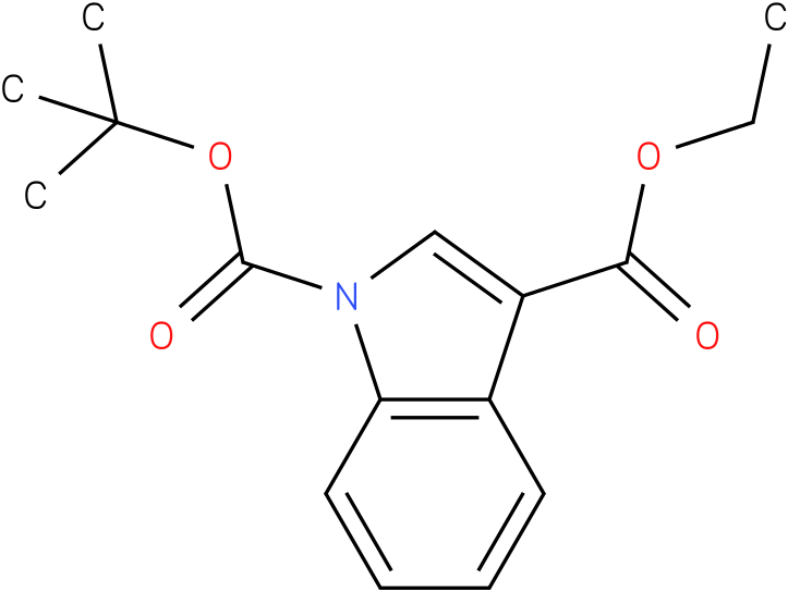 1H-INDOLE-1,3-DICARBOXYLIC ACID,1-(1,1-DIMETHYLETHYL)3-ETHYL ESTER