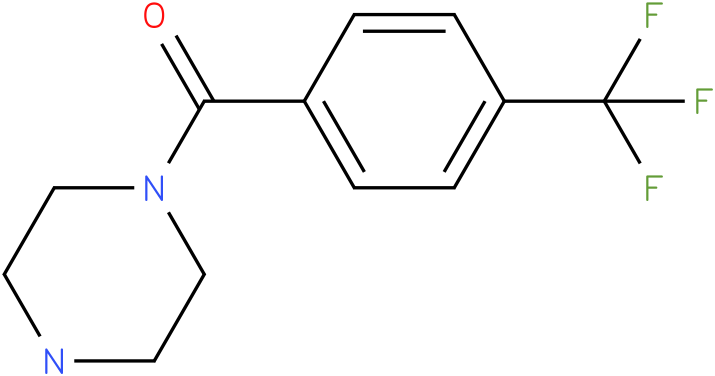 1-([4-(TRIFLUOROMETHYL)PHENYL]CARBONYL)PIPERAZINE