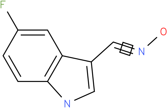 5-FLUORO-1H-INDOLE-3-CARBOXALDEHYDE OXIME