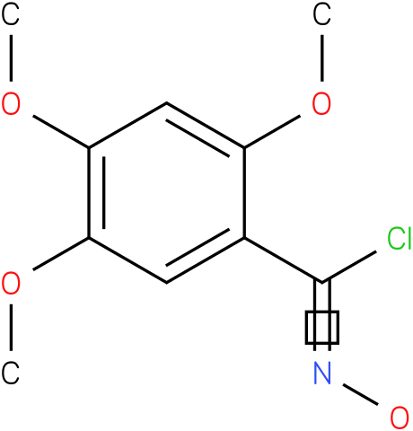 2,4,5-TRIMETHOXY,BENZOYL CHLORIDE,OXIME