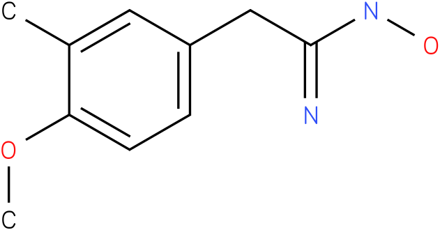 BENZENEETHANIMIDAMIDE,N,-HYDROXY-4-METHOXY-3-METHYL