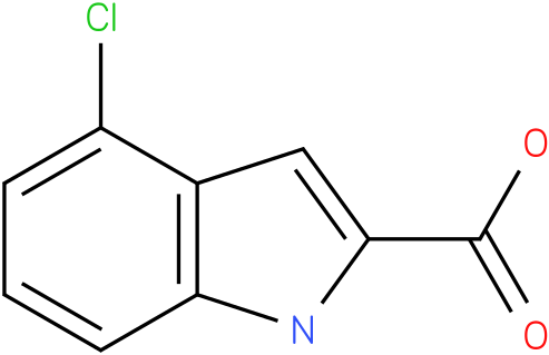 1H-INDOLE-2-CARBOXYLIC ACID,4-CHLORO-