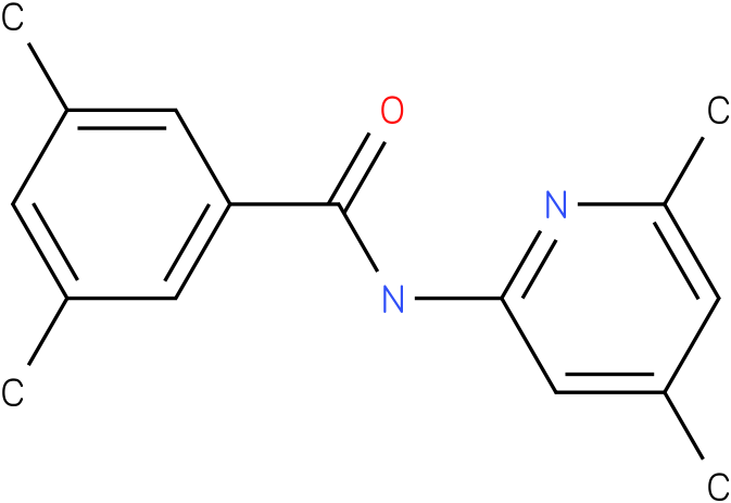 Benzamide,N-(4,6-dimethyl-2-pyridinyl)-3,5-dimethyl-