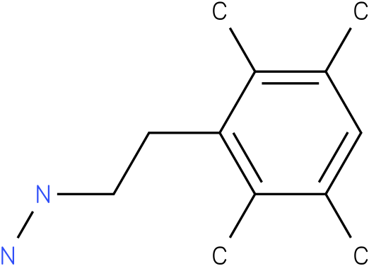 1-(2,3,5,6-tetramethylphenethyl)hydrazine