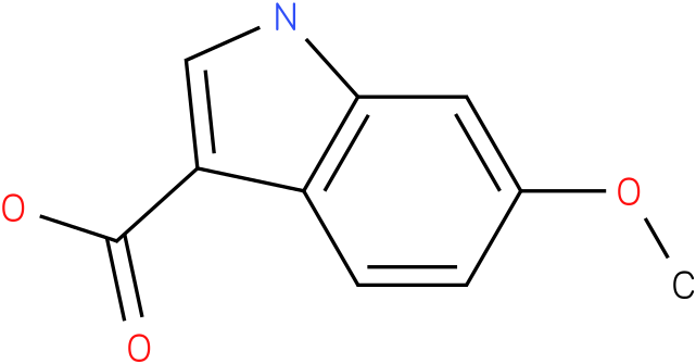 1H-INDOLE-3-CARBOXYLIC ACID,6-METHOXY