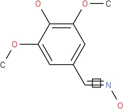 3,5-DIMETHOXY-4-HYDROXYBENZALDEHYDE OXIME