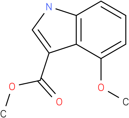 1H-INDOLE-3-CARBOXYLIC ACID,4-METHOXY-,METHYL ESTER