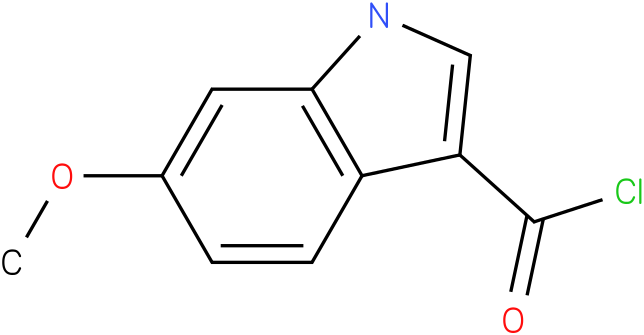 6-METHOXY-1H-INDOLE-3-CARBONYL CHLORIDE