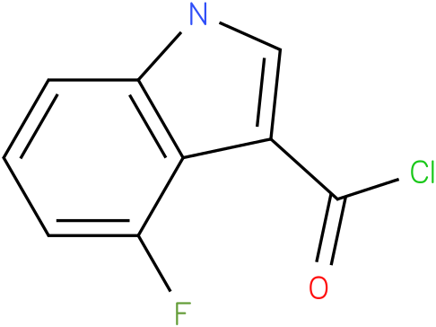 4-FLUORO-1H-INDOLE-3-CARBONYL CHLORIDE