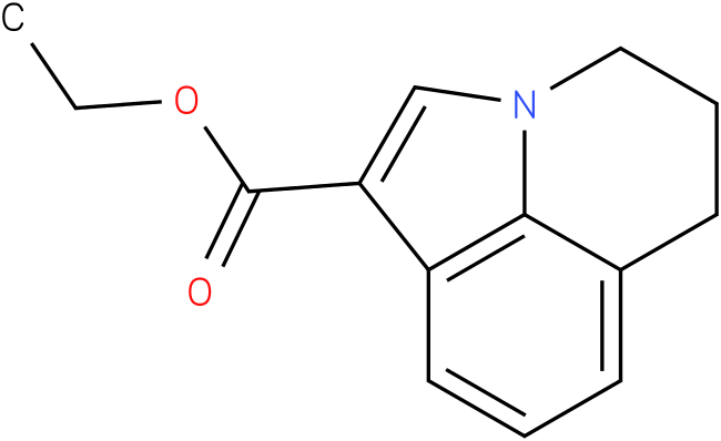 ETHYL 2,3-DIHYDRO-1H-PYRROLO[3,2,1-Lj]QUINOLINE-6-CARBOXYLATE