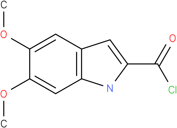 5,6-DIMETHOXY-1H-INDOLE-2-CARBONYL CHLORIDE