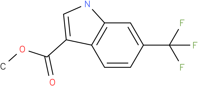 1H-INDOLE-3-CARBOXYLIC ACID,6-(TRIFLUOROMETHYL)-,METHYL ESTER